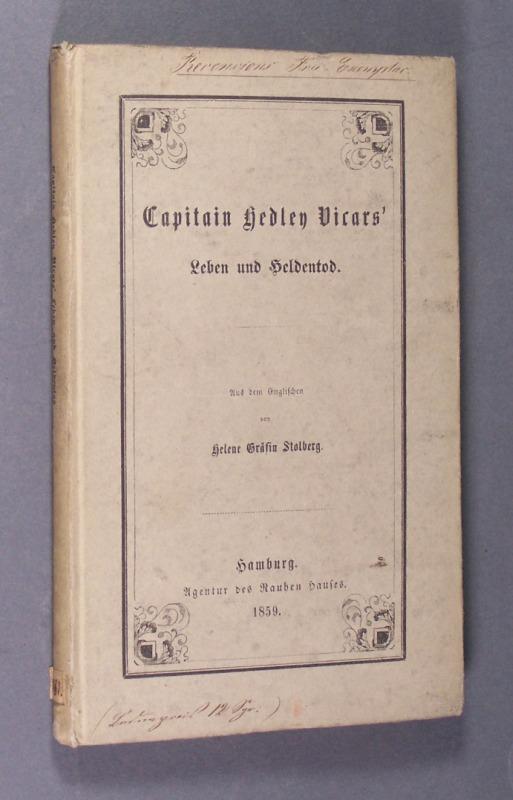 Capitain Hedley Vicars
