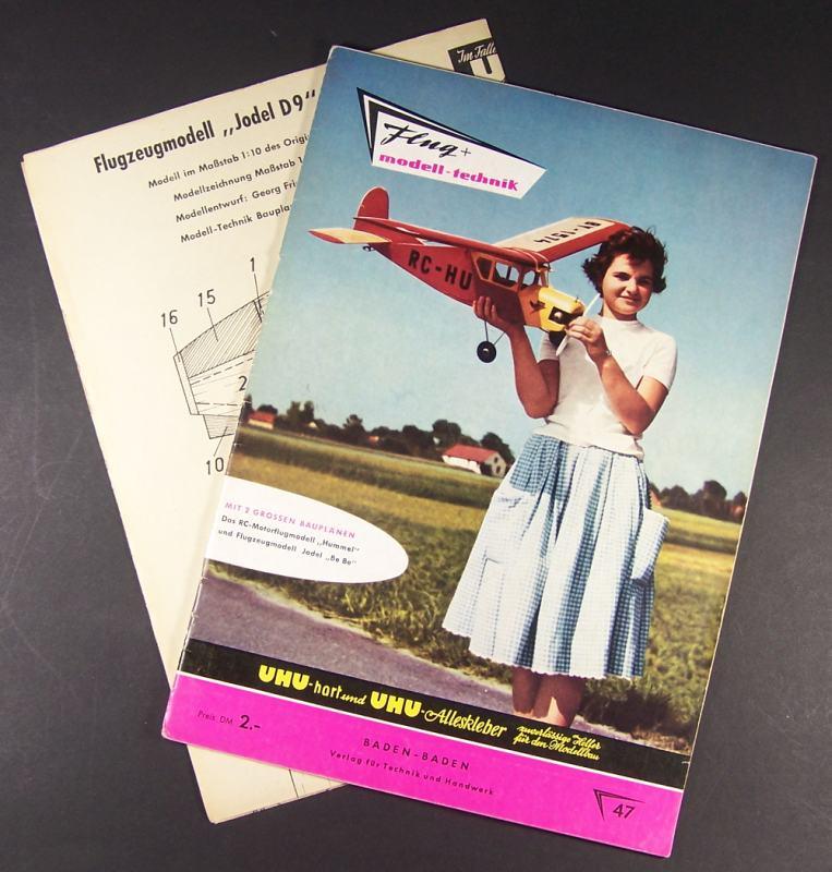 Flug + Modell-technik. Zeitschrift für Flug-Technik, Flugmodellsport-Bau und Unterricht. Herausgegeben von Alfred Ledertheil und Hanns Keller. - Jahrgang VII [7], Heft 7 (Folge 47, 1959).