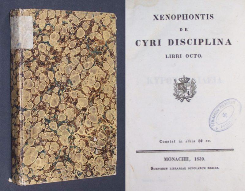 Xenophontis de Cyri disciplina libri octo.