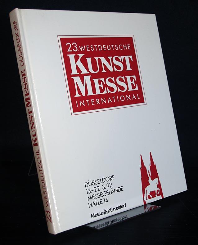 23. Westdeutsche Kunstmesse International, Düsseldorf 1992. Freitag, 13. März, bis Sonntag, 22. März 1992.