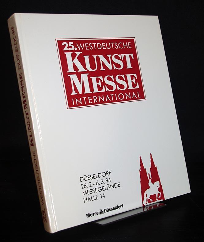 25. Westdeutsche Kunstmesse International, Düsseldorf 1994. Samstag, 26. Februar, bis Sonntag, 6. März 1994.