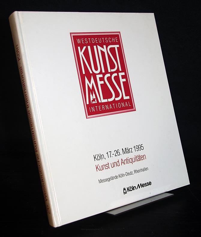 26. Westdeutsche Kunstmesse International, Düsseldorf 1995. Freitag, 17. März bis Sonntag, 26. März 1995.