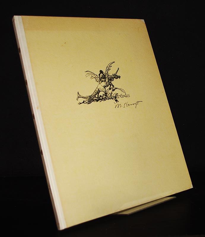 Zeichnungen zu Kinderliedern, Tierfabeln und Märchen. Von Max Slevogt.