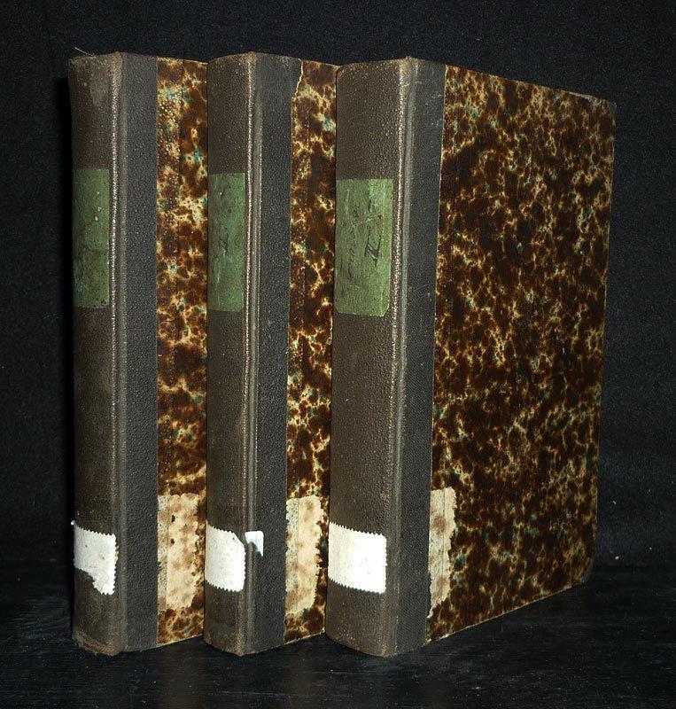 Institutiones Philosophicae Salvatoris Tongiorgi. [3 Bände]. - Volumen 1: Logica. - Volumen 2: Ontologia - Cosmologia. - Volumen 3: Psychologia - Theologia. 3 Bände (= vollständig). / 9. Auflage.