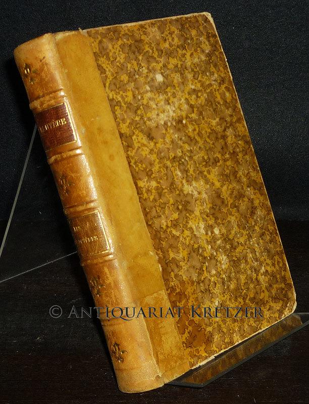 Caracteres de la Bruyere. Suivis des caracteres de Theophraste, traduits di grec par la Bruyere, avec des notes et des additions par Schweighaeuser.
