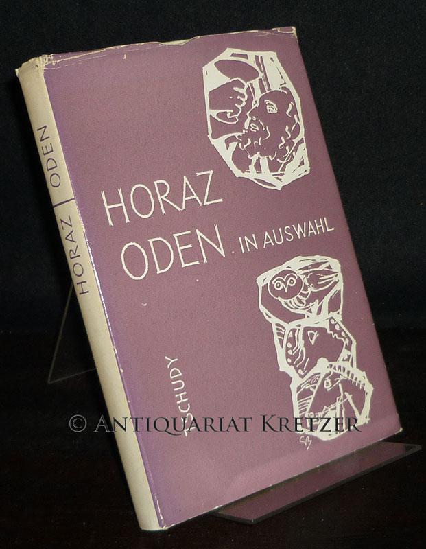 Horaz. Oden in Auswahl. Nachdichtungen mit dem lateinischen Original. [Von Fritz Enderlin]. 2. Auflage.