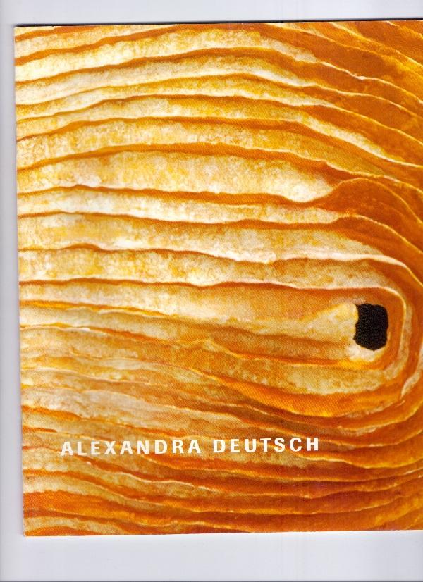 Alexandra Deutsch: Objekte aus geschöpftem Papier. Text: Dr. Ulrike Hauser-Suida, Mannheim.