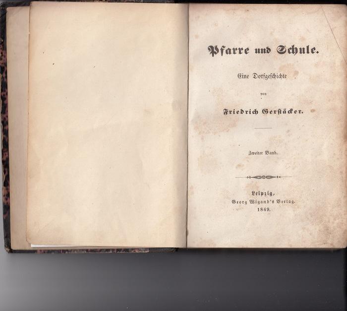 Pfarre und Schule. 2. Band. Eine Dorfgeschichte. [1. Aufl.], Band 2 von 3,