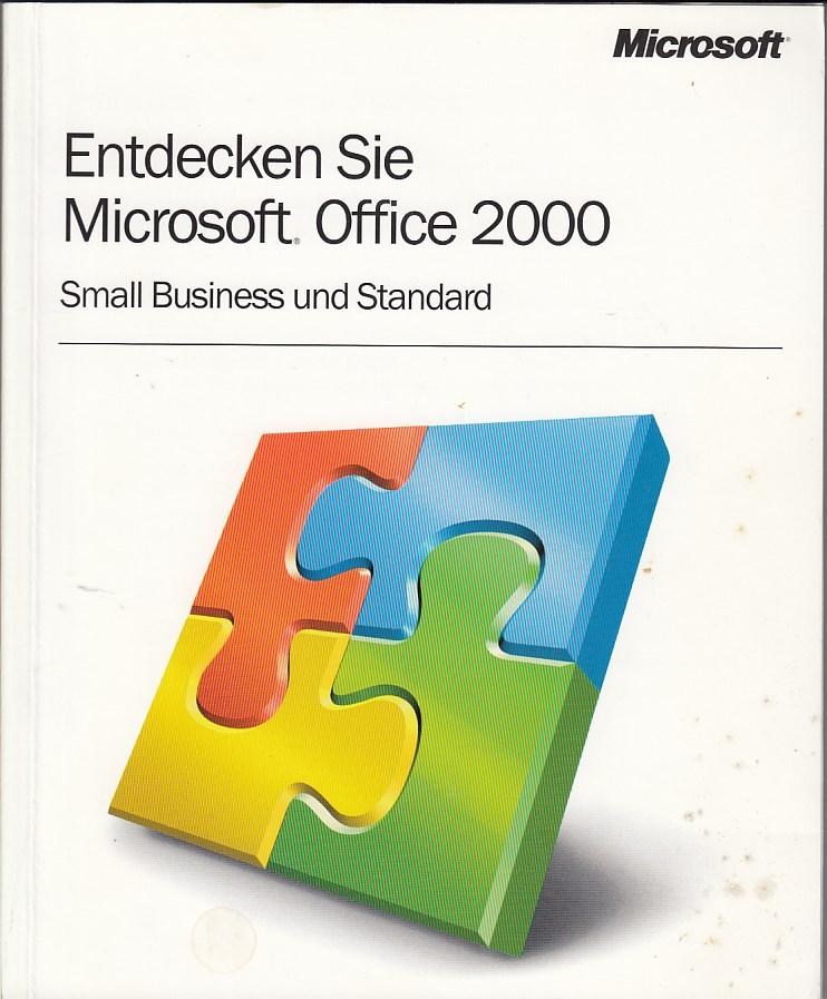 Endecken Sie Microsoft Office 2000. Small Business und Standard.