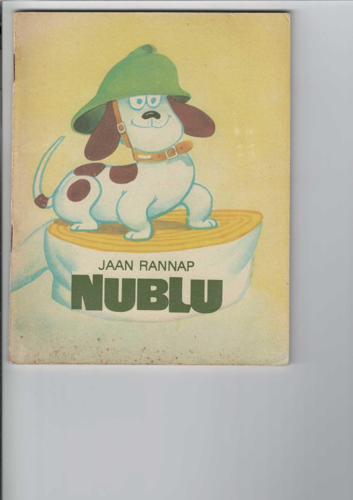 Nublu. Kinderbuch. Gezeichnet von Edgar Valter. [Aus dem Estnischen übertragen von Haide Roodvee].