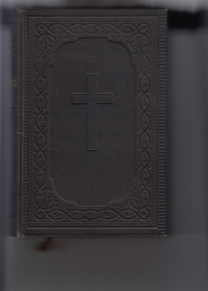 Die Bibel oder die ganze Heilige Schrift des Alten und Neuen Testaments nach der deutschen Übersetzung D. Martin Luthers. Zwei Karten. Durchgesehen. Groß-Oktavausgabe.
