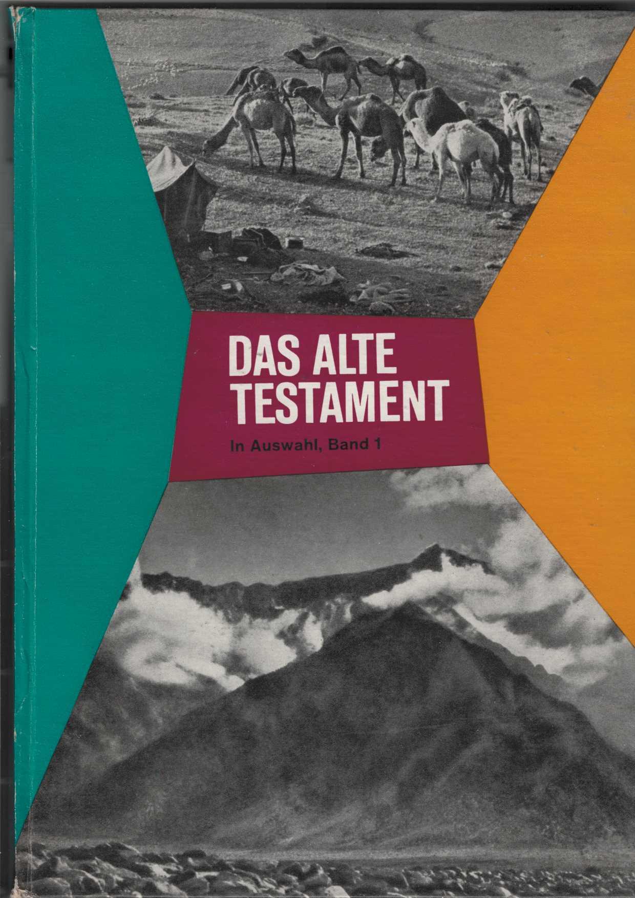 Das Alte Testament. In Auswahl, Band 1. In vier Teilen zu je zweiunddreißig Seiten mit über zweihundert Illustrationen und vielen Karten. 2. Aufl.,