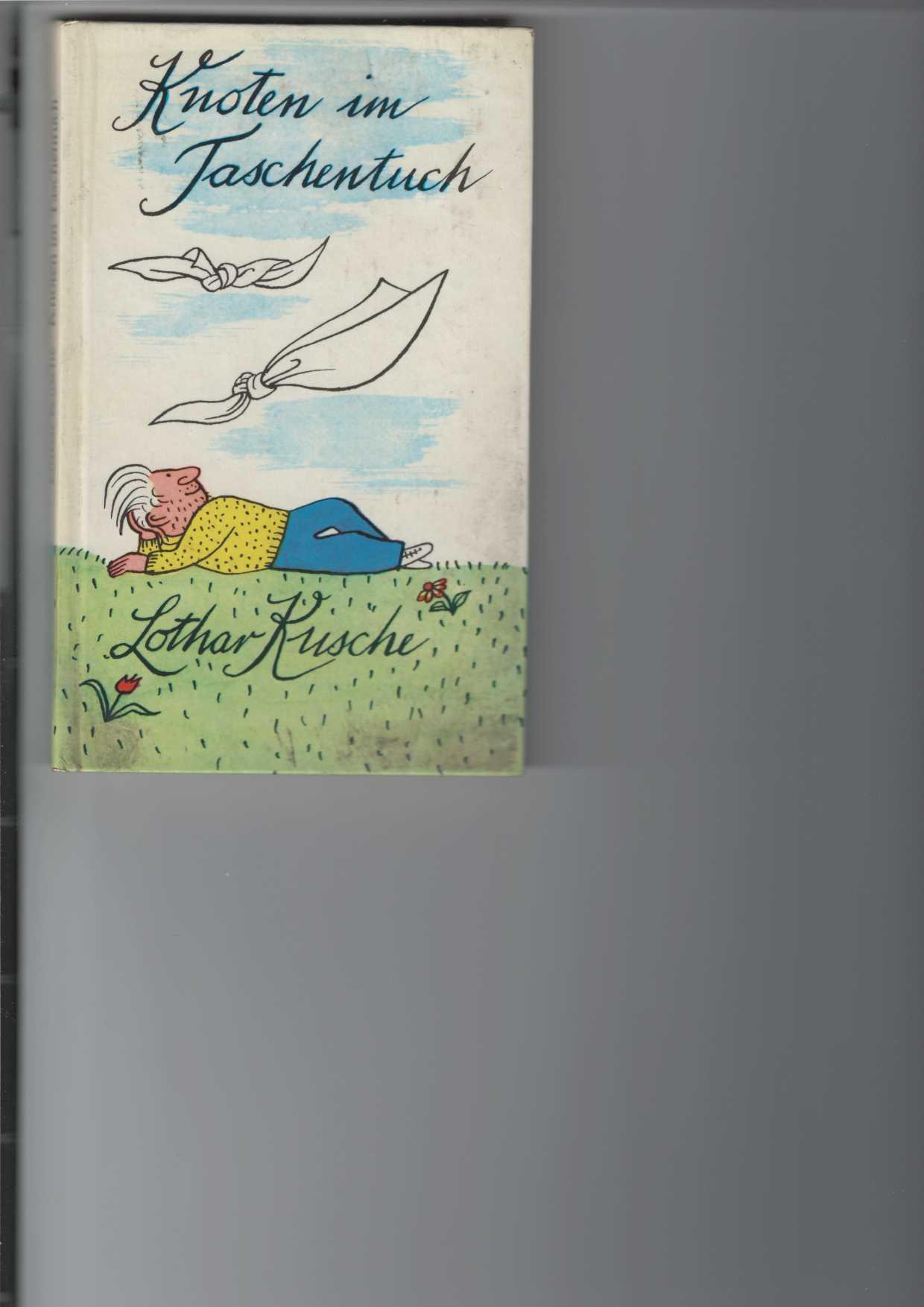 Knoten im Taschentuch. Anekdoten über Begegnungen mit Dichtern, Schauspielern, Karikaturisten und Journalisten. Illustrationen von Elizabeth Shaw. 2. Aufl.,