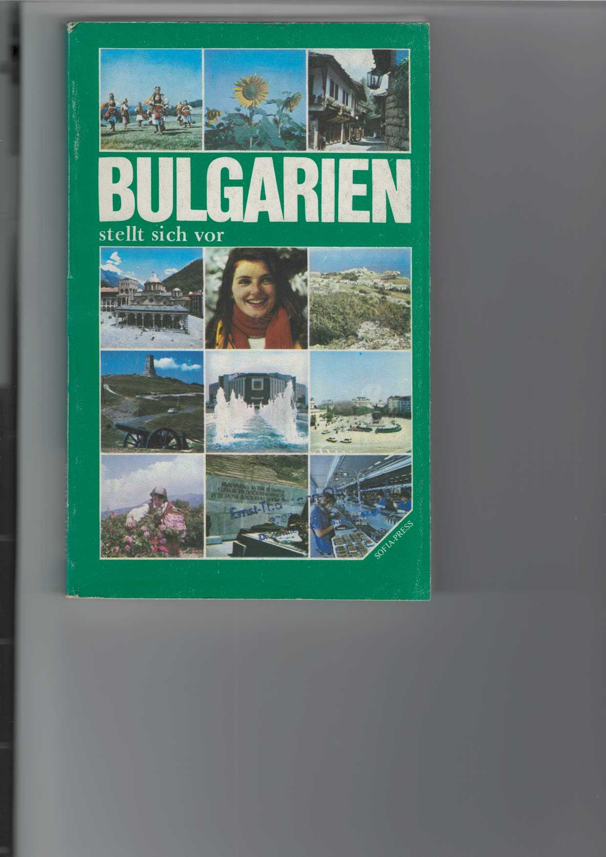 Bulgarien stellt sich vor. Land und Leute. [Aus dem Bulgarischen übersetzt]. Mit Abbildungen im Text und farbigen 24 Bildtafeln.
