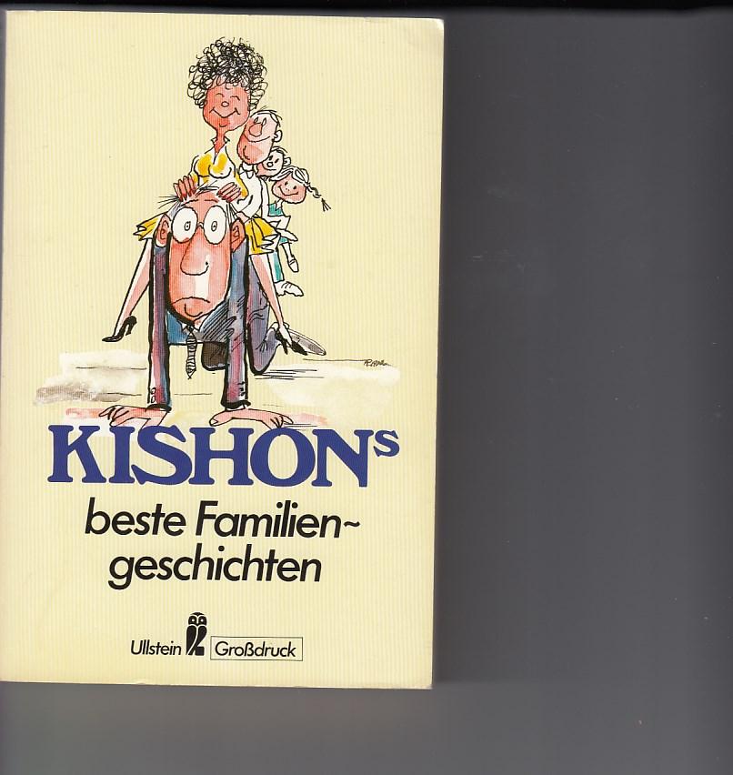 Ephraim Kishons beste Familiengeschichten. Satiren. [Ins Deutsche übertragen von Friedrich Torberg]. Ullstein Großdruck, Ullstein Buch Nr. 40095. Ungekürzte Ausgabe. 11. - 16. Tsd.,