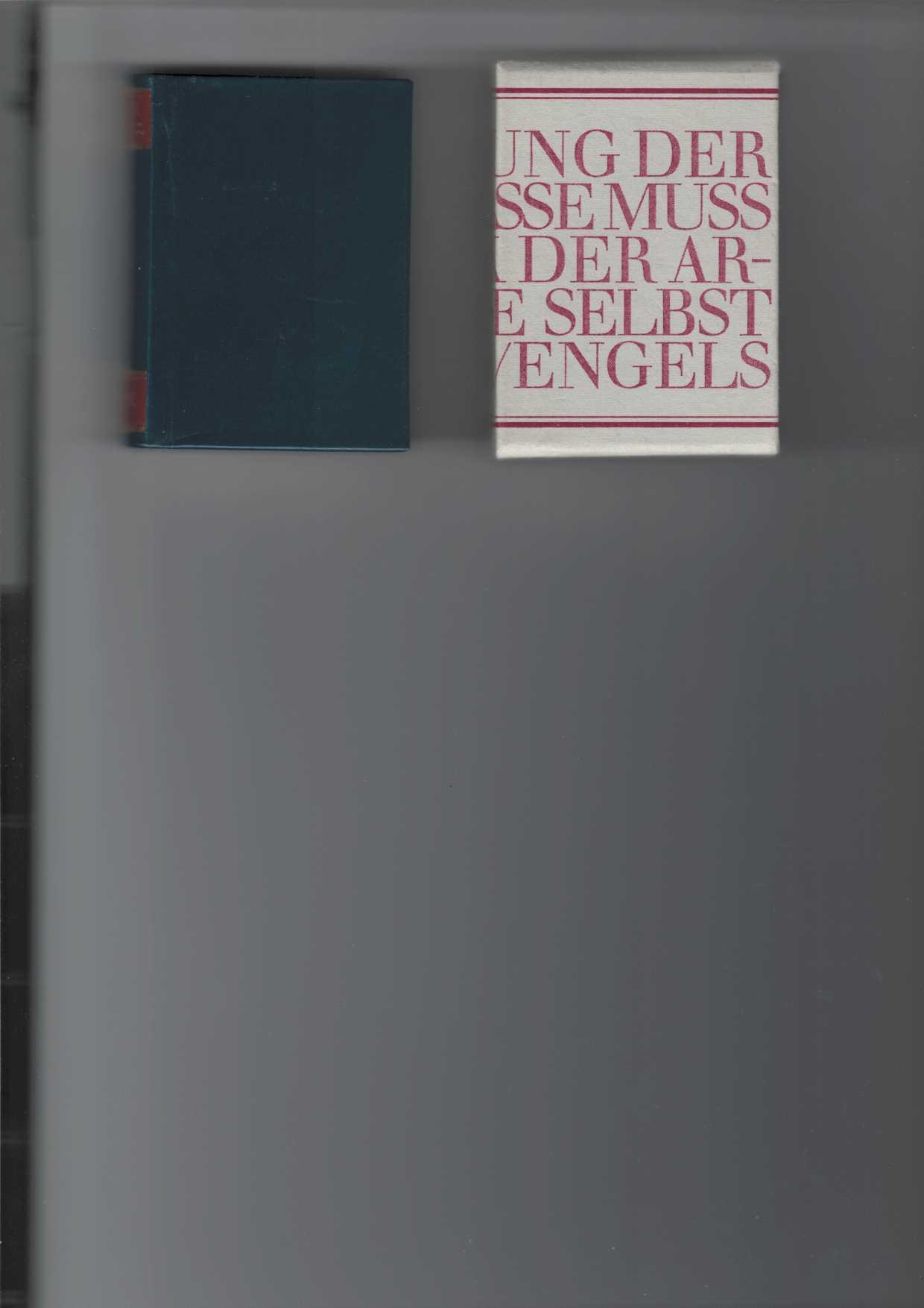 Marx Engels Worte. Nesler, Jutta; Peter Läuter und Renate Schack (Hrsg.). 4. Aufl.,