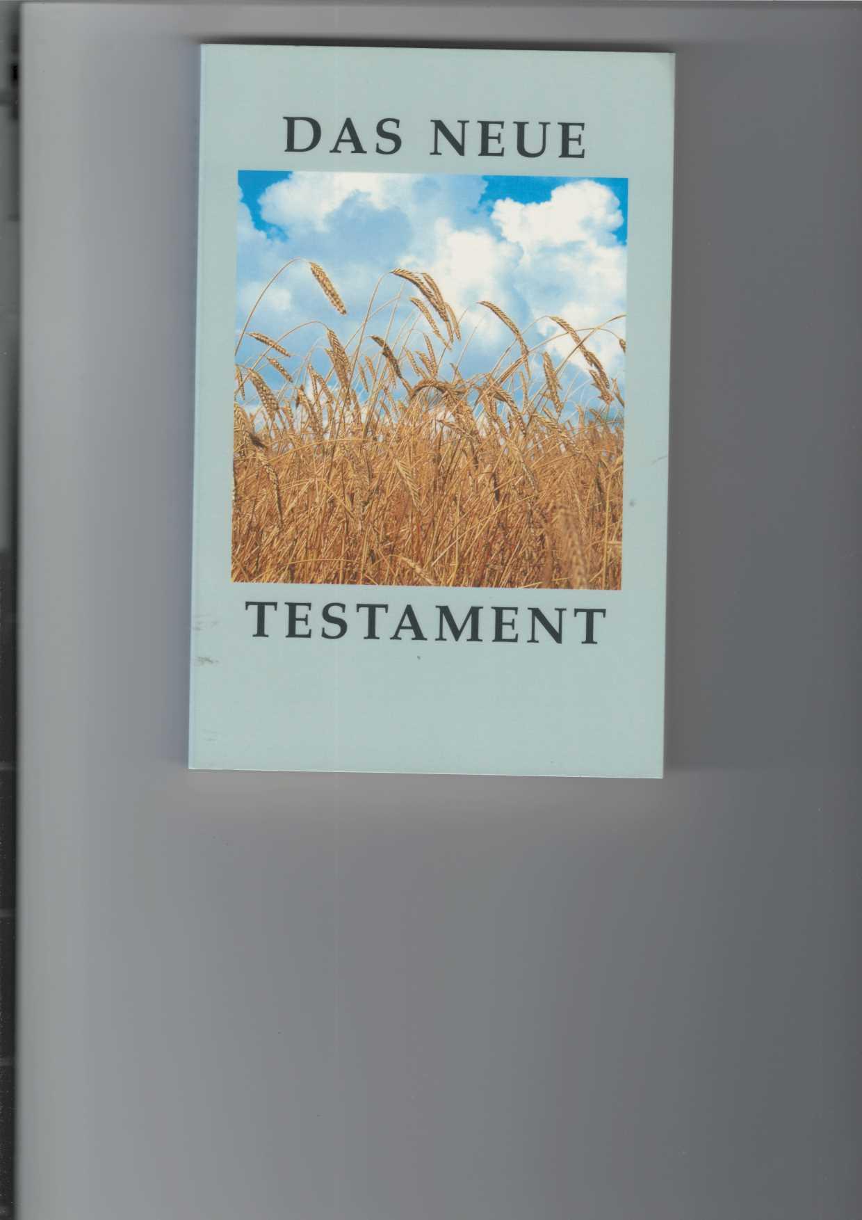 Das Neue Testament. Elberfelder Übersetzung. 7. Auflage; 6. Sonderausgabe für Verbreitung der Heiligen Schrift, Eschenburg (VdHS).
