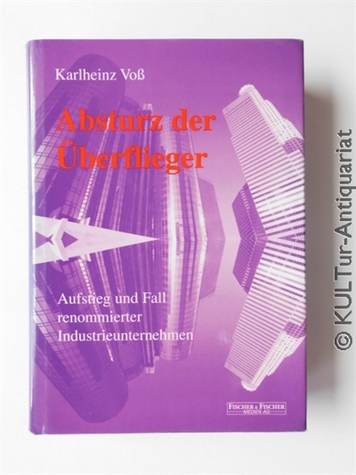 Voß, Karlheinz: Absturz der Überflieger. Aufstieg und Fall renommierter Industrieunternehmen. 1. Aufl.