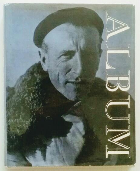 Teilhard de Chardin Album. 1. Auflage / first print in Engl. language, blaugeprägtes weißes Leinenin Foto-SU / blue embossed white cloth in photo-dust-jacket.