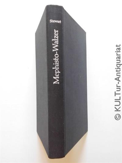 Stewart, Fred M.: Mephisto-Walzer. Roman. EA, an Rücken weißgeprägtes schwarzes Leinen.
