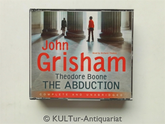 Theodore Boone. The Abduction (4 Audio-CDs).  UK-Auflage, 4 Audio-CDs in Multibox, ungekürzte Fassung / ca. 5 Stunden. - Grisham, John