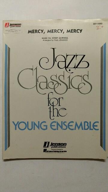 Mercy, Mercy, Mercy. Jazz Clasics for the young ensemble. k.A. Full Score.