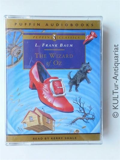 The Wizard of Oz - Puffin Classics (2 MCs). UK-Auflage, 2 Hörcassetten m. Einleger in OVP, Laufzeit 3 Stunden 15 Min.