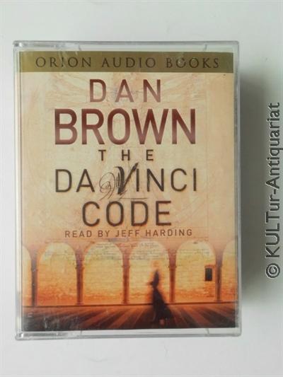 The Da Vinci Code (4 MCs). UK-Auflage, 4 MCs in OVP m. Einlegern, Spieldauer / running time 6 Stunden / hours + 40 Min.