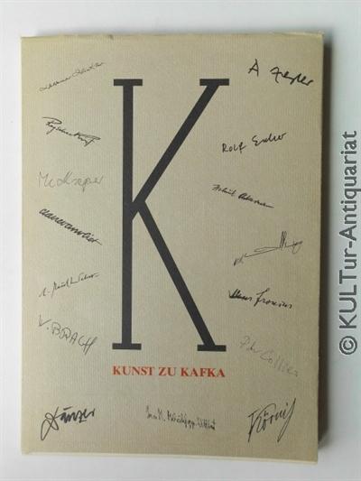 Nicolin, Günther: Kunst zu Kafka : Ausstellung zum 50. Todestag. 2000 Exemplare