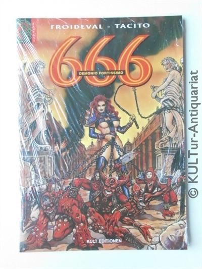 666 - Band 3 : Demonio Fortissimo. Dt. Ausgabe.