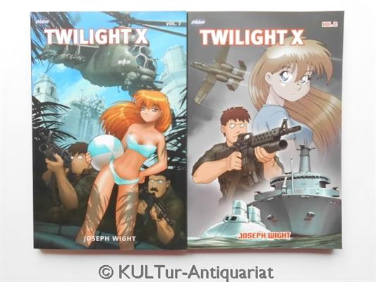 Twilight X, Vol. 1 und 2. Kompletter Band! Auflage: 1., Vol. 1 und 2., Konvolut.
