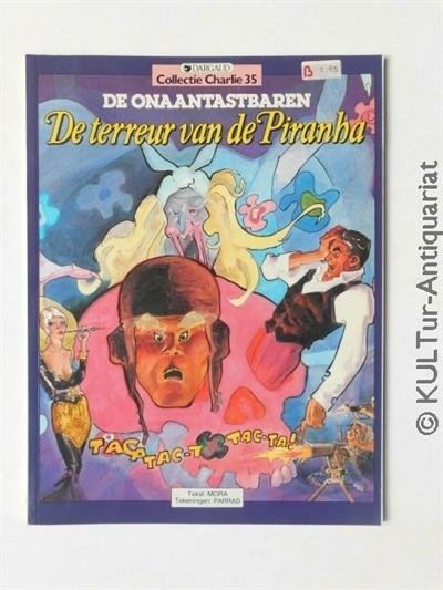 Collectie Charlie, Band 35: De Onaantastbaren - De terreur van de Piranha. Auflage: 1, Band 35.