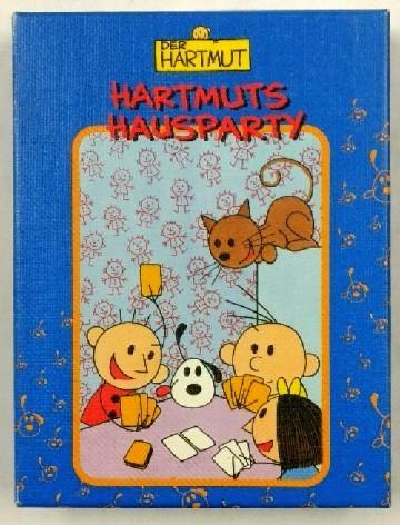HARTMUTS HAUSPARTY - Kartenspiel, CARLSEN COMICS Auflage von 2002.
