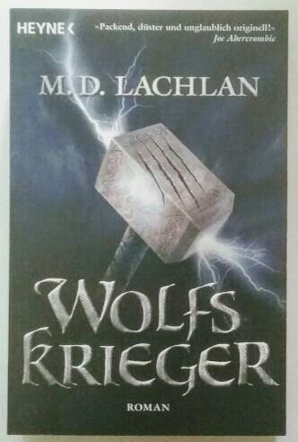 Wolfskrieger. Dt. Erstausgabe.