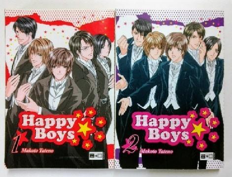 Happy Boys, Band 1 und 2! Konvolut! Band 1 und 2! Auflage: 1.
