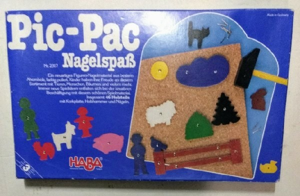 Pic-Pac Nagelspaß Nr. 2317. UNVOLLSTÄNDIG!