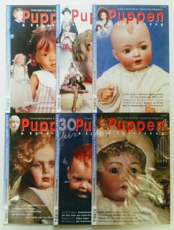 Puppen & Spielzeug - Internationales Sammlermagazin 31. Jahrgang 2006 6 Hefte, komplett.
