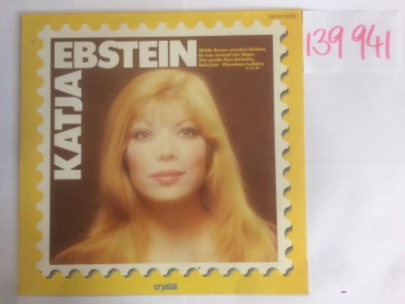 Katja Ebstein. Nr.  038 CRY 29 560.