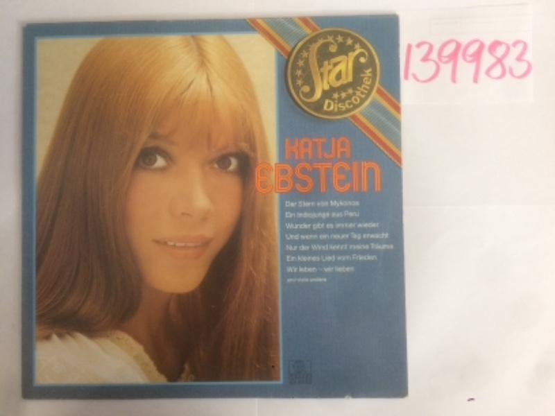 Katja Ebstein. (Star-Discothek) NR. 201 245-241.