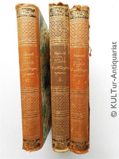 Erzählungen - 3 Bände.