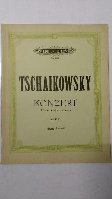Konzert G dur. Opus 44. Auflage n.a.