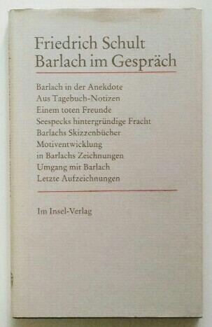Barlach im Gespräch. 3. Aufl.