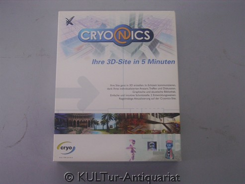 Cryonics [PC CD-Rom]. GER.