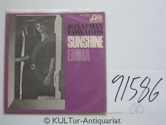 Sunshine / Emma  [Vinyl-Single]. GER ATL 10 085.