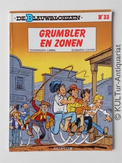 De Blauwbloezen Nr.33. Grumbler en Zonen. 1. Auflage.