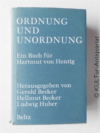 Ordnung und Unordnung 1. Auflage.