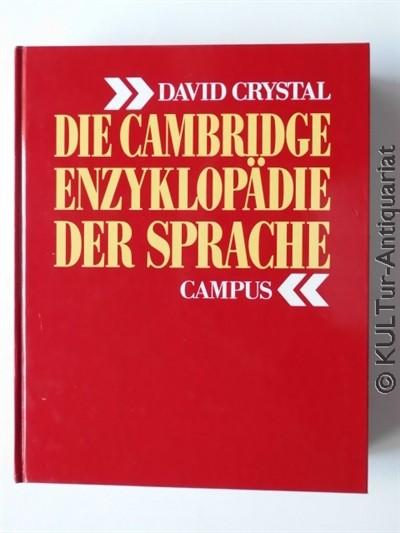 Die Cambridge Enzyklopädie der Sprache. Studienausgabe / 1 Bd.