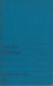 Erzählungen. Aus dem Finnischen übersetzt von Manfred Peter Hein. es137.