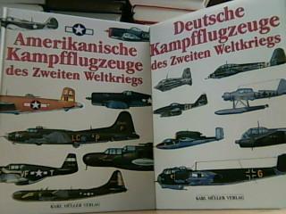 Buch 1: Deutsche Kampfflugzeuge des Zweiten Weltkriegs. Buch 2: Amerikanische Kampfflugzeuge des Zweiten Weltkriegs.