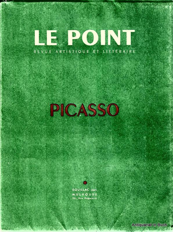 LE POINT PICASSO - Revue Artistique et Littéraire Numero XLII (42) Octobre 1952
